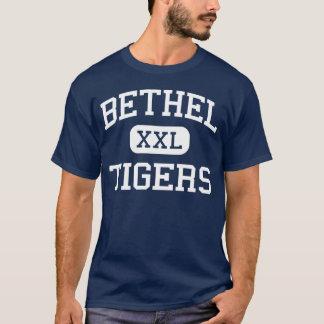 Bethel medio Connecticut de los tigres del Bethel Playera