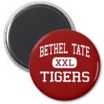 Bethel Tate - Tigers - Middle School - Bethel Ohio Refrigerator Magnet