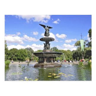 """Bethesda """"ángel Central Park de las aguas"""", NYC Postal"""