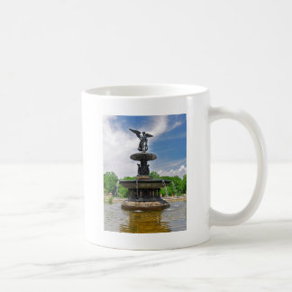 "Bethesda ""Angel of the Waters"" Central Park, NYC Classic White Coffee Mug"