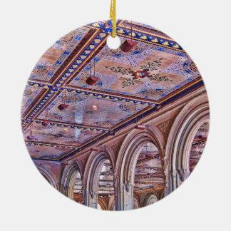 Bethesda Arcade, Central Park Christmas Tree Ornaments