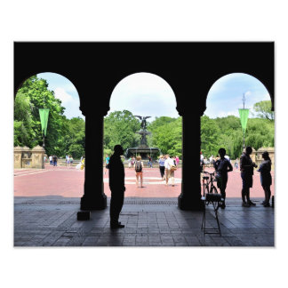 Bethesda Fountain and Promenade Photographic Print