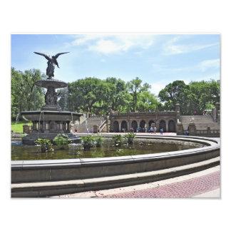 Bethesda Fountain and Promenade Photo Print