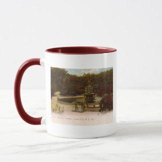 Bethesda Fountain, Central Park, New York 1905 Vin Mug