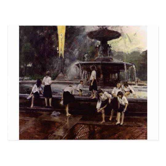 Bethesda Fountain, Central Park, NYC Postcard