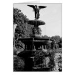 Bethesda Fountain in Central Park Photo Greeting Card