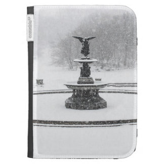 Bethesda Fountain in Central Park Photo Kindle Keyboard Cases