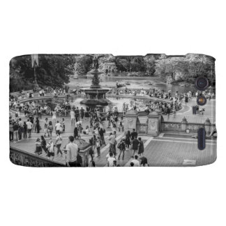 Bethesda Fountain in Central Park Photo Droid RAZR Cases