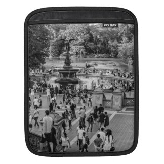 Bethesda Fountain in Central Park Photo iPad Sleeves