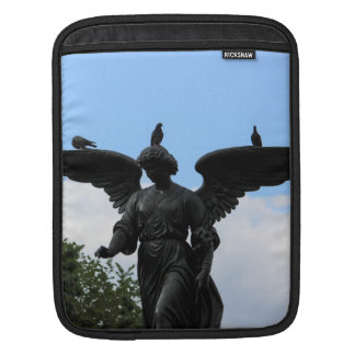 Bethesda Fountain in Central Park Photo Sleeves For iPads