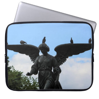 Bethesda Fountain in Central Park Photo Laptop Sleeve