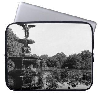 Bethesda Fountain in Central Park Photo Computer Sleeves