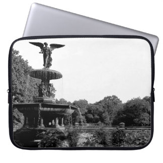 Bethesda Fountain in Central Park Photo Computer Sleeve