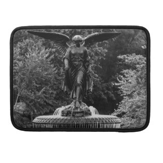 Bethesda Fountain in Central Park Photo MacBook Pro Sleeves