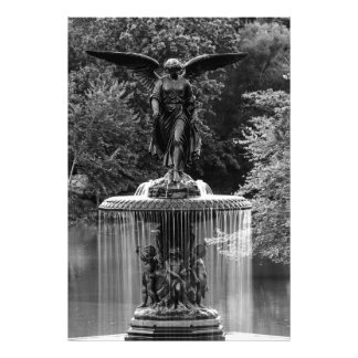Bethesda Fountain in Central Park Photo