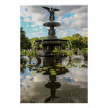 Bethesda Fountain in Central Park Photo Print