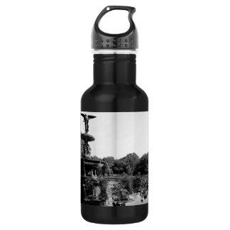 Bethesda Fountain in Central Park Photo Stainless Steel Water Bottle