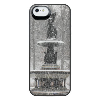 Bethesda Fountain in Central Park Photo Uncommon Power Gallery™ iPhone 5 Battery Case