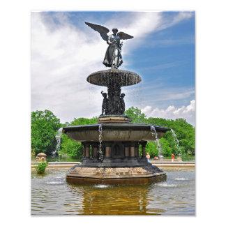 Bethesda Fountain Photo Print