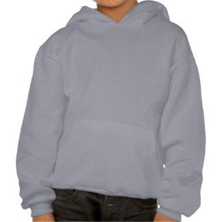 Bethesda script logo in blue hooded pullover