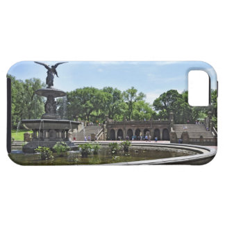 """Bethesda Terrace"" Central Park, NY iPhone 5 Cases"