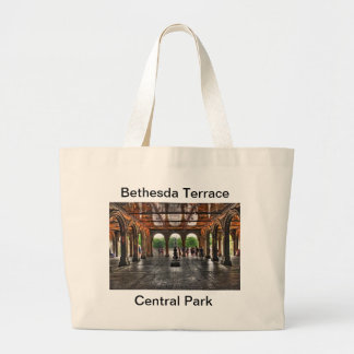 """Bethesda Terrace"" Central Park, NY Large Tote Bag"