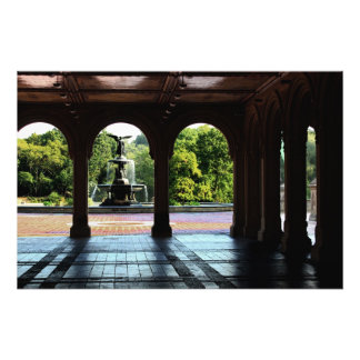 Bethesda Terrace in New York Central Park Photo