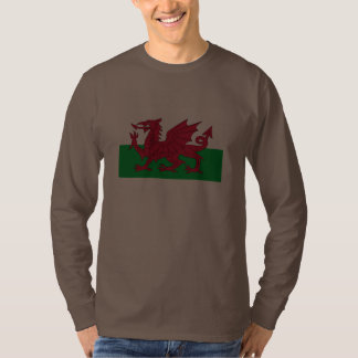 Bethesda, Wales with Welsh flag T Shirt