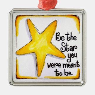 BeTheStar Metal Ornament