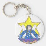 Bethlehem Angel Keychain