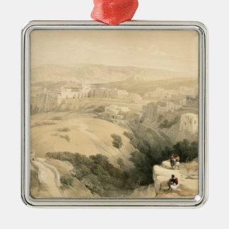Bethlehem, April 6th 1839, plate 85 from Volume II Christmas Ornament