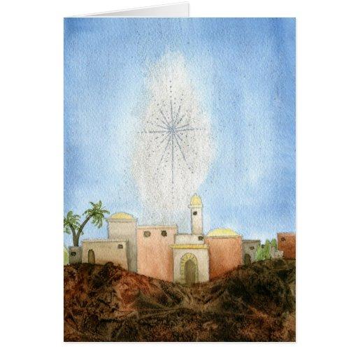 Bethlehem Christmas Card | Zazzle
