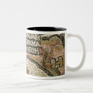 Bethlehem, detail from a map of Jericho Two-Tone Coffee Mug
