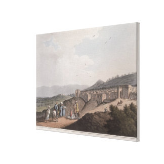 Bethlehem in Palestine, View of the Principal Part Canvas Print
