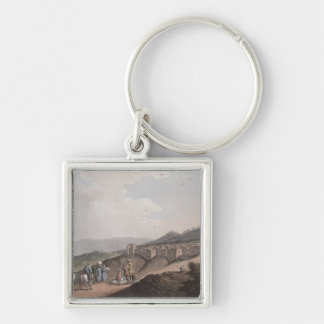 Bethlehem in Palestine, View of the Principal Part Keychain