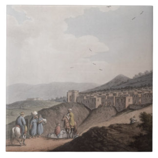 Bethlehem in Palestine, View of the Principal Part Tile