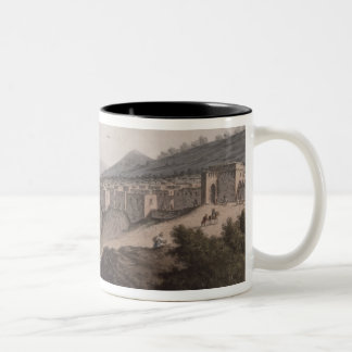 Bethlehem in Palestine, View of the Principal Part Two-Tone Coffee Mug