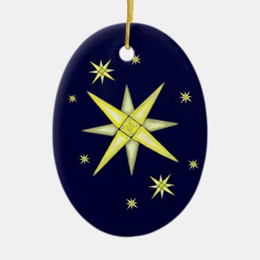 Bethlehem Night (Shining Stars) Ornament