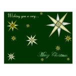 Bethlehem Night Shining Stars Postcard