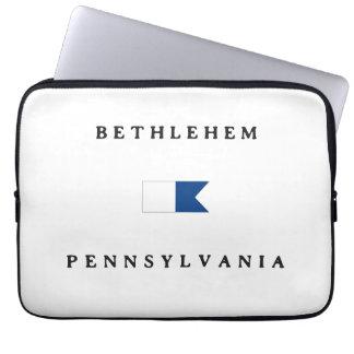 Bethlehem Pennsylvania Alpha Dive Flag Laptop Computer Sleeves
