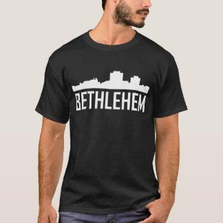 Bethlehem Pennsylvania City Skyline T-Shirt