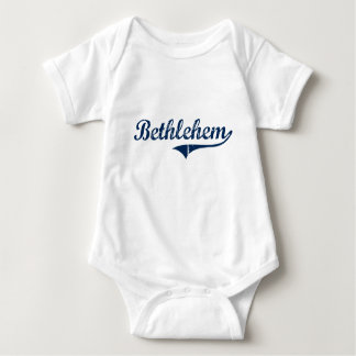 Bethlehem Pennsylvania Classic Design Infant Creeper