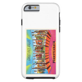 Bethlehem Pennsylvania PA Vintage Travel Souvenir Tough iPhone 6 Case