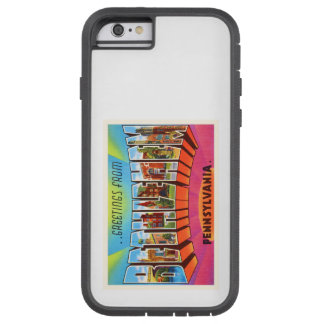 Bethlehem Pennsylvania PA Vintage Travel Souvenir Tough Xtreme iPhone 6 Case