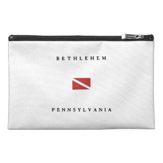 Bethlehem Pennsylvania Scuba Dive Flag Travel Accessories Bag