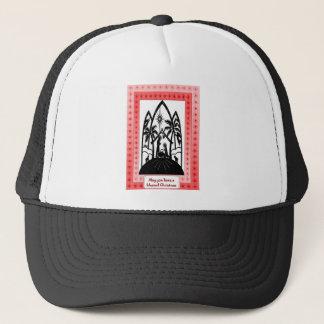 Bethlehem silhouette trucker hat
