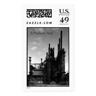 Bethlehem Steel Postage Stamps
