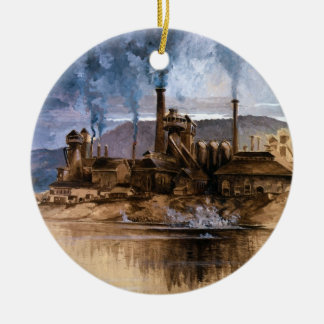 Bethlehem Steel trabaja por José Pennell Adorno De Navidad