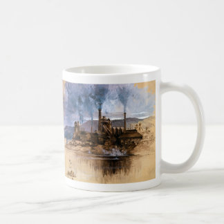 Bethlehem Steel Works by Joseph Pennell Classic White Coffee Mug