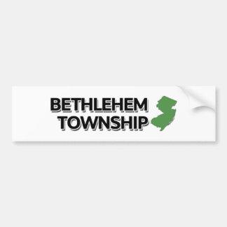Bethlehem Township, New Jersey Bumper Sticker